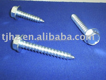fully threaded self tapping screw for plastic Material: C1022, Finish: EG, Yellow Zinc Plated