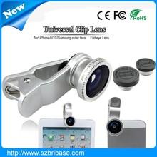 Universal phone Clip fisheye lens 3 in smart phone Fisheye Lens