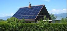 Solar power A grade panel monocrystalline solar 5000Wp / 5KWp /5KWatts power for home consumption