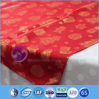 polyester jacquard fabric dinning christmas table cloths