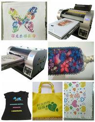 Best Sale Multicolor Digital 3d Shopping Bag Printer Machine on Sale