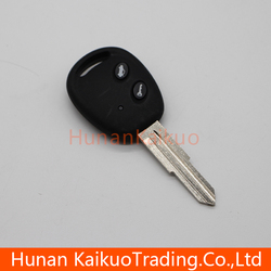 Good quality auto remote straight key with 2 button master key for Chevrolet Lova car, 433 MHz, Original