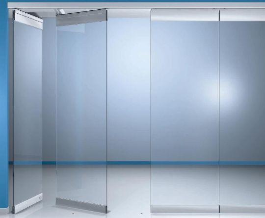 Frameless Internal Bi Fold Sliding Glass Patio Doors And