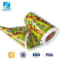 Custom design excellent quality colorful popsicle wrapper