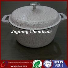 Pink Crack type Cast Iron enamel cookware cooking hot pot