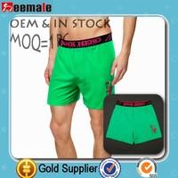 2015 New Arrival 100% Cotton European Underwear Brands Authentic Long Leg Underwear Cotton Casual Boxer Homme Shorts Item#SH1220