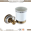 Most Popular Cheap In-wall Antique Bronze Bathroom Accessory White Ceramic Bathroom Accessory Sets Polish Metal Bathroom Sets