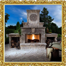 Cheap Electric Stone Fireplace Outdoor Fireplace for Sale
