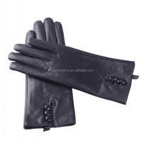 HM1325 Wholesale women wearing leather gloves