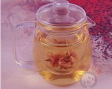 Wholesale High Quality Hand Blown Borosilicate Glass Grace Tea Ware
