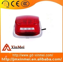 Motorcycle High Quality RED Chrome LED Tail Light For Vespa Px200e LML Stella Star Delux 150 200 - DIRECT REPLACEMENT