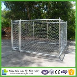 alibaba website hot sale galvanized backyard dog kennel