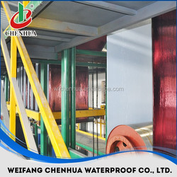 China automatic bitumen waterproof membrane roof roll forming machine manufacturer