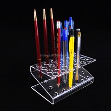 High quality customized acrylic pen holder display