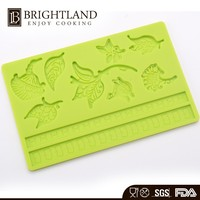 Various Shaped Cake Stencil Silicone Cake Topper Lace Mold