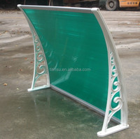PC assemble awning window and polycarbonate Window door canopy