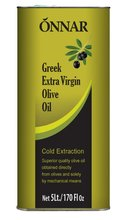 Onnar Extra Virgin Olive Oil 5L