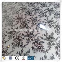 304 Stainless Steel Etching Sheet Price for Metal Wall Decor Panels