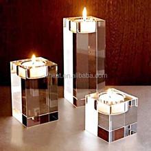 High Quality Wedding Candle Holder / More Size Wedding Gift Crystal Tea Light Holder