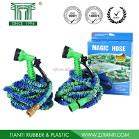 2015 Hot Product 50FT Magic Hose with Spray Nozzles Expandable Garden Hose Flexible Stretch Hose As Seen On TV