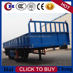 2015 hgh quality 2/3 axles sidewall trailers or cargo trailer for transport on sale made in China