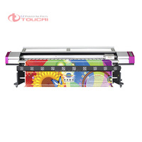 Large format digital DX5 printhead printing Galaxy UD-3212LD eco solvent plotter 3.2m