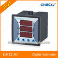 tres fase medidor de voltaje dc voltímetro