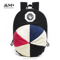 Custom personalized casual Canvas Backpack
