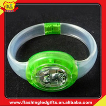 Hot sale bracelet latest bangle with customer design popular lighting luminous bracelet
