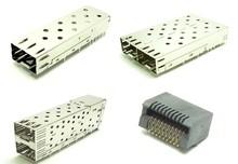 SFP Cage R/A Metal Shield connector