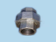 QIAO brand low price Union galvanized malleable iron water meter pipe fitting NO.330