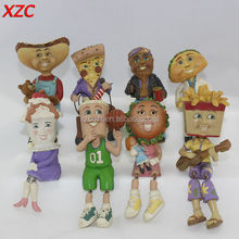 Resin Cute Fake Food 8Sets Food Toy Child Toy