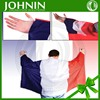 Sports fans usage 100D polyester double sleeve france flag with cape