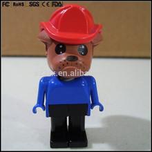 Haga Custom estatuilla figura, por encargo estatuilla plástica mini figuras de acción