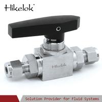 gas/oil/water high pressure swagelok type mini ball valve