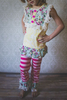 Summer Boutique Remakes Western Girls Outfit Children's Clothing Wholesale China Factory
