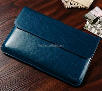 Executive Genuine leather laptop bag sleeves case for Macbook 11 inch 13 inch
