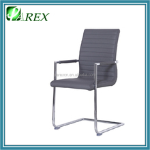 PDC749AR Modern Home Dining Chair Metal frame leather dinner chair with arm