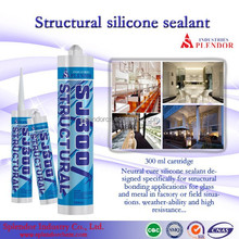 multi purpose structural silicone sealant for glass roof