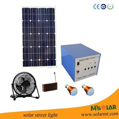 100w Off Grid Solar Power System Stand Alone Pv Solar Kit