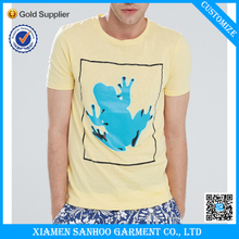 Cotton/Spandex Blank Wholesale Men Printed T-Shirt With Your Own Logo Mixed Sizes