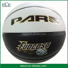 custom printed professional leather custom basketball ball