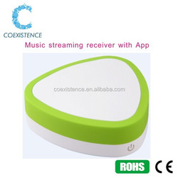 Wifi Music Audio Streaming Receiver Range Extender Support DLNA AirMusic play HIFI Music wireless outdoor speaker
