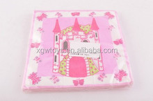 16pcs Princess&Pirate Pattern Baby Napkin Tissue