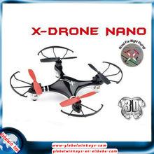 increíble volteretas radical ufo 6axis & rollos gw-th107r nano aviones rc micro quadcopter con transmisor de 2,4 g para la venta