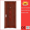 Steel security door used wrought iron door gates SC-S006