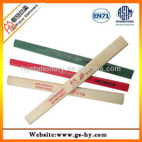 wood carpenter slate pencil with printing