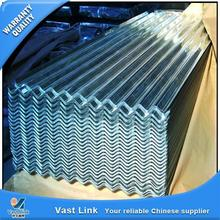 Multifunctional zinc coated color stone curving corrugated steel roof sheet from China