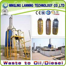 2013 Newest Waste Engine oil /Crude Tire Oil Distillation Equipment