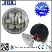 Auto led work light 18w 24v off road led working lamp 1800lm motorcycles,jeep,ATVs led headlight